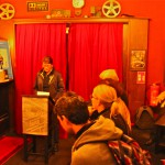 Bürgermeisterin Birgit Jörden bei der Eröffnung des HUNA/K 2015 im Roxy Kino Dortmund