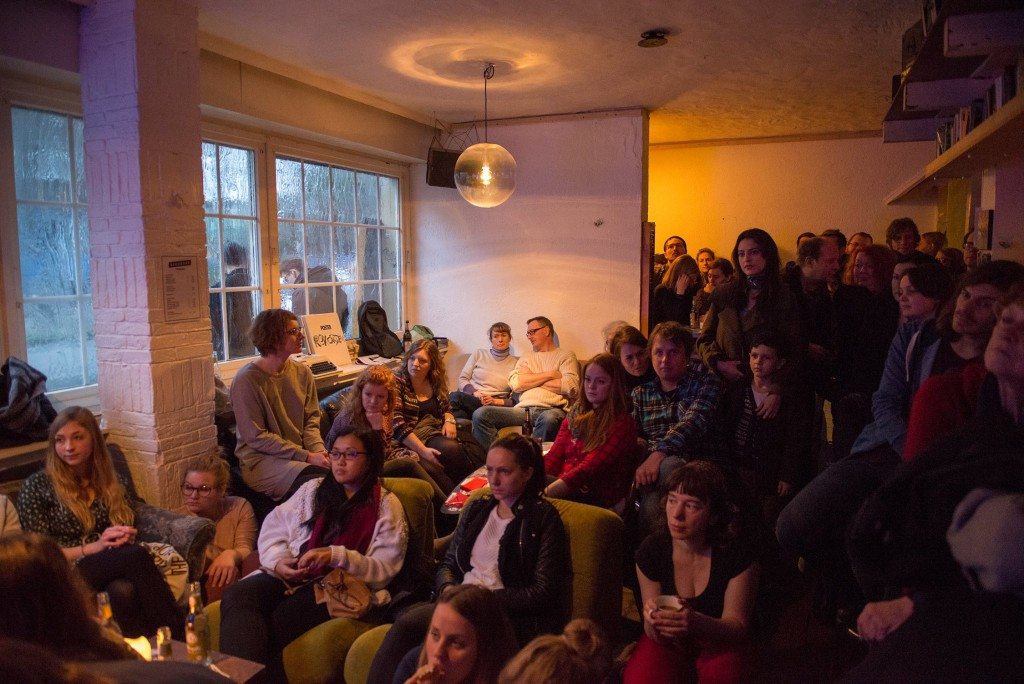 Frère-Konzert bei Songs & Cakes im Rekorder, Dortmund. Foto: Theresa Albers