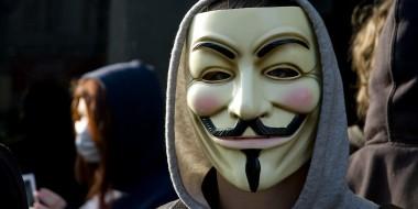 Ein Aktivist der Vigilanten-Gruppe Anonymous / Foto: Strevo licensed under CC BY-SA 2.0