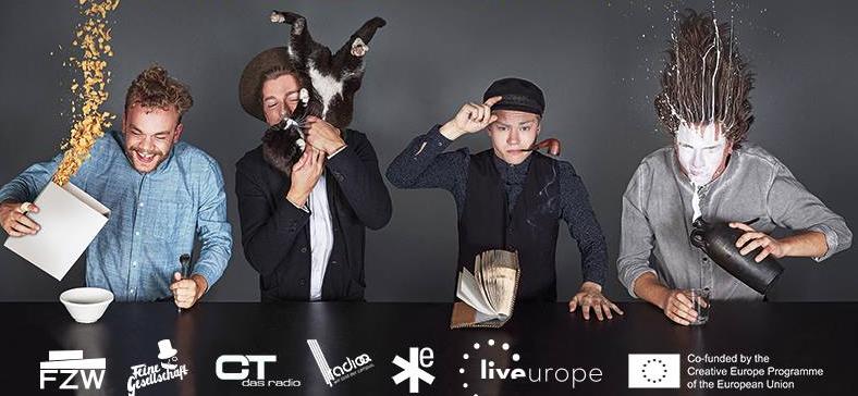 Liveurope, Feine Gesellschaft, CT das radio, eldoradio*, Radio Qpräsentieren: LIVEUROPE DAY 2016