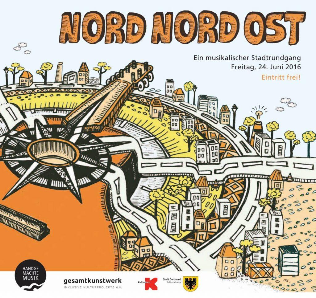 Nordstadt, Nordliche Innenstadt, Kaiserstraßenviertel: Das Nord-Nord-Ost Festival in Dortmund