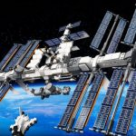 Sie ist da: Die Lego Version der internationalen Raumstation ISS